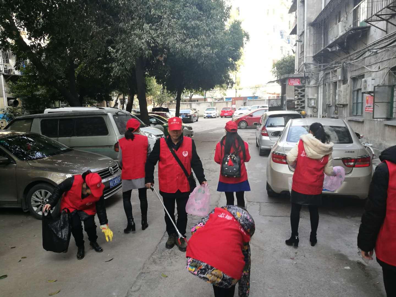 东安社区春节期间开展系列志愿服务活动