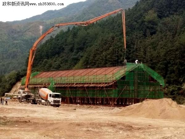 佛子山景区外屯游客服务中心建设扎实推进